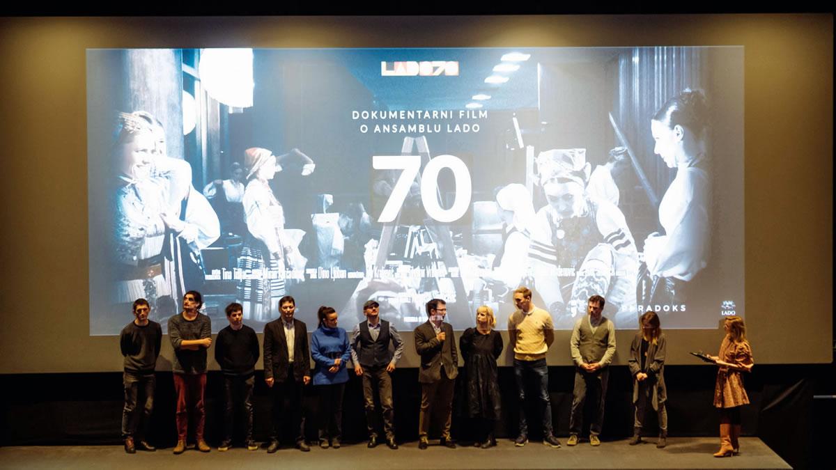 """70"" - dokumentari film o ansamblu lado - kaptol boutique cinema zagreb 2019"