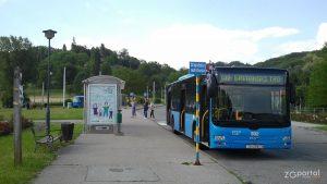 autobus linije 102 - terminal mihaljevac, zagreb - svibanj 2012.