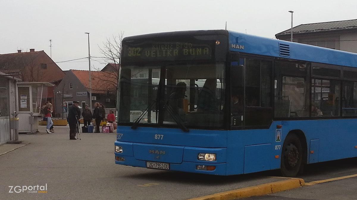 autobusna linija 302 (velika gorica - ključić brdo - velika buna) - terminal velika gorica - ožujak 2017.