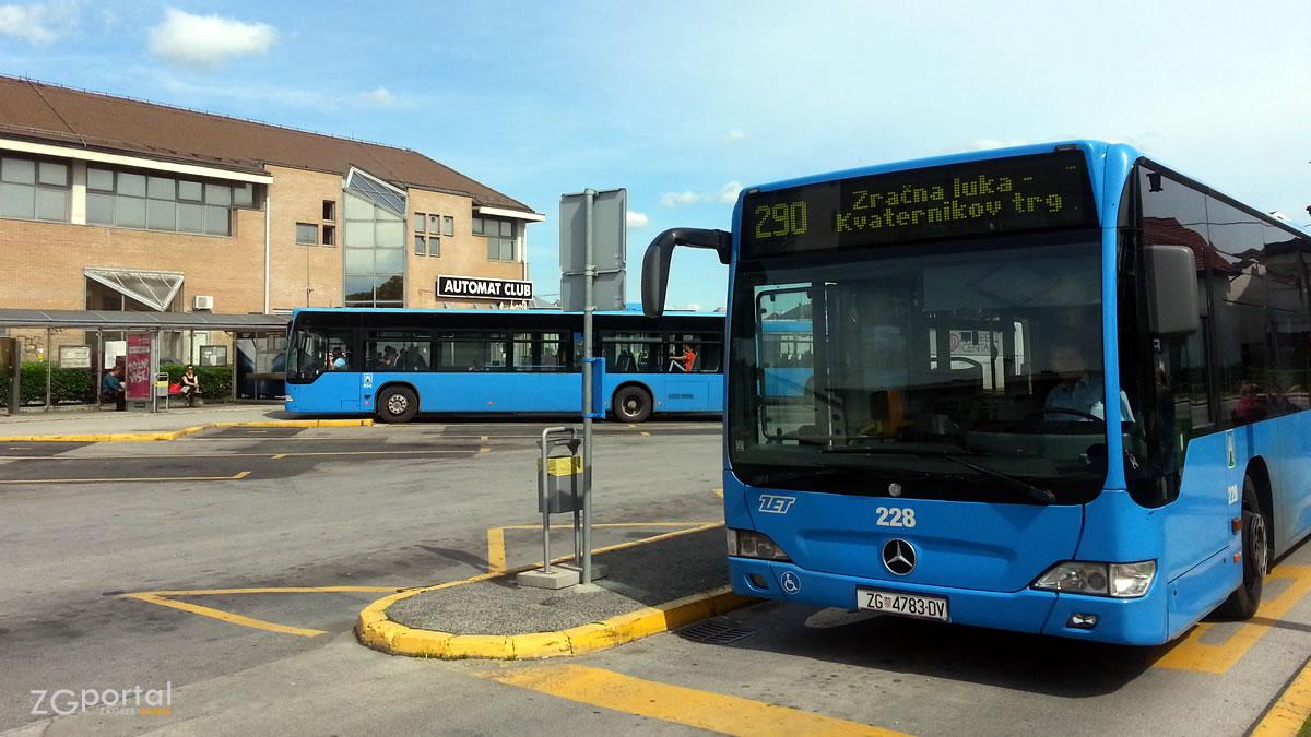 autobusna linija 290 - autobusni kolodvor velika gorica / svibanj 2017.