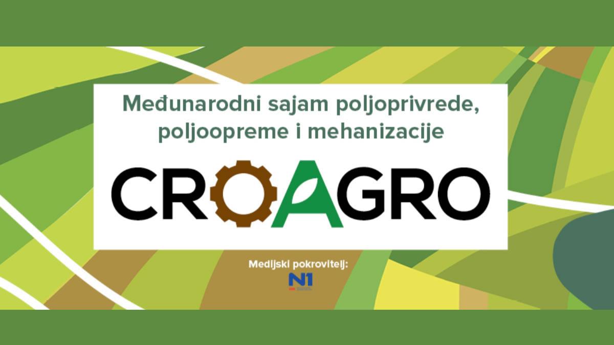 CroAGRO 2019 - Međunarodni sajam poljoprivrede, poljoopreme i mehanizacije
