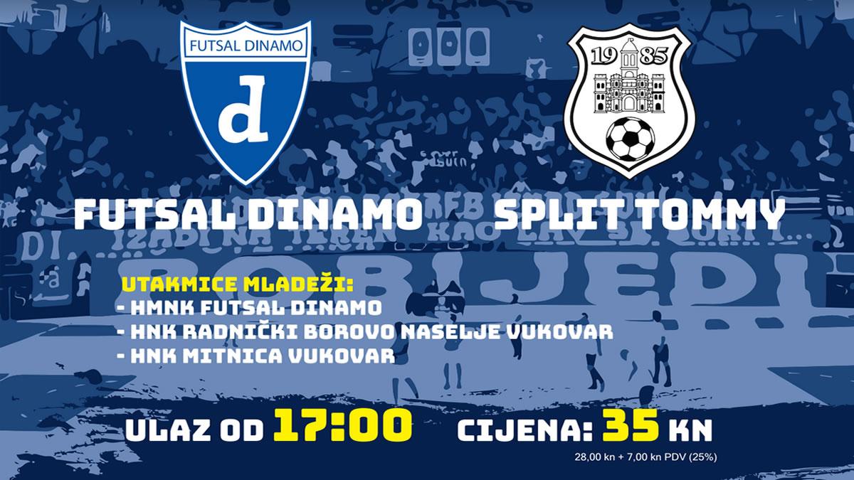 futsal dinamo vs tommy split / cibona 2019