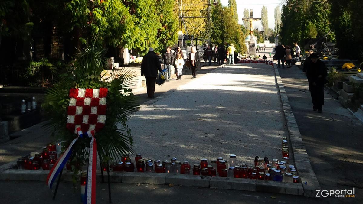 groblje mirogoj - centralni križ / listopad 2012.