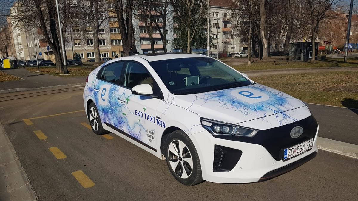 hyundai ioniq - eko taxi zagreb - 2019