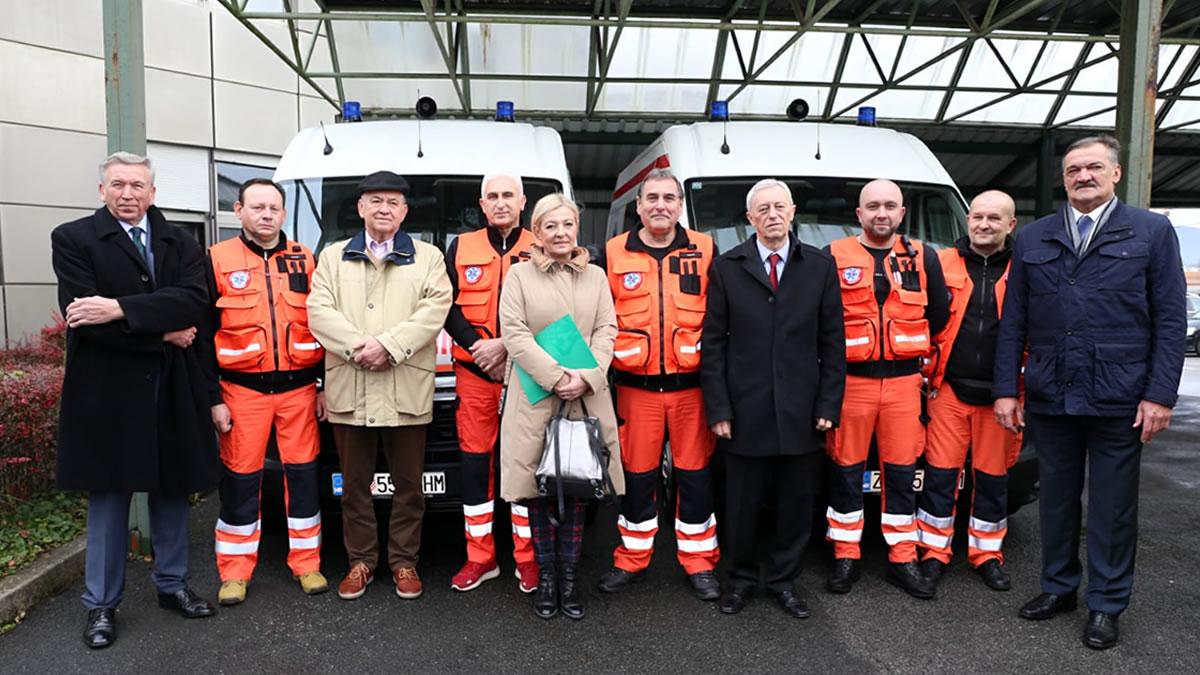 nova vozila za hitnu medicinu zagrebačke županije / 2019