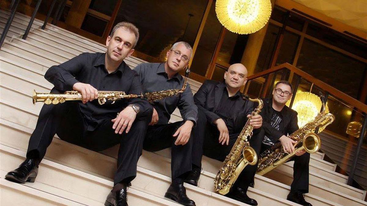zagrebački kvartet saksofona / kd lisinski / 2019