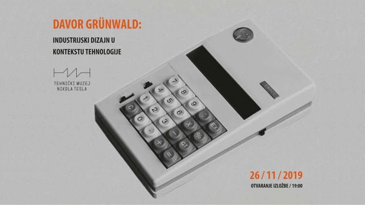 davor grunwald - industrijski dizajn u kontekstu tehnologije - tehnički muzej 2020