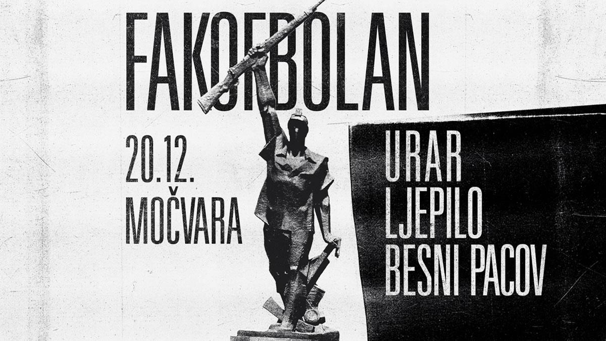 fakofbolan - urar - ljepilo - besni pacov / močvara 2019