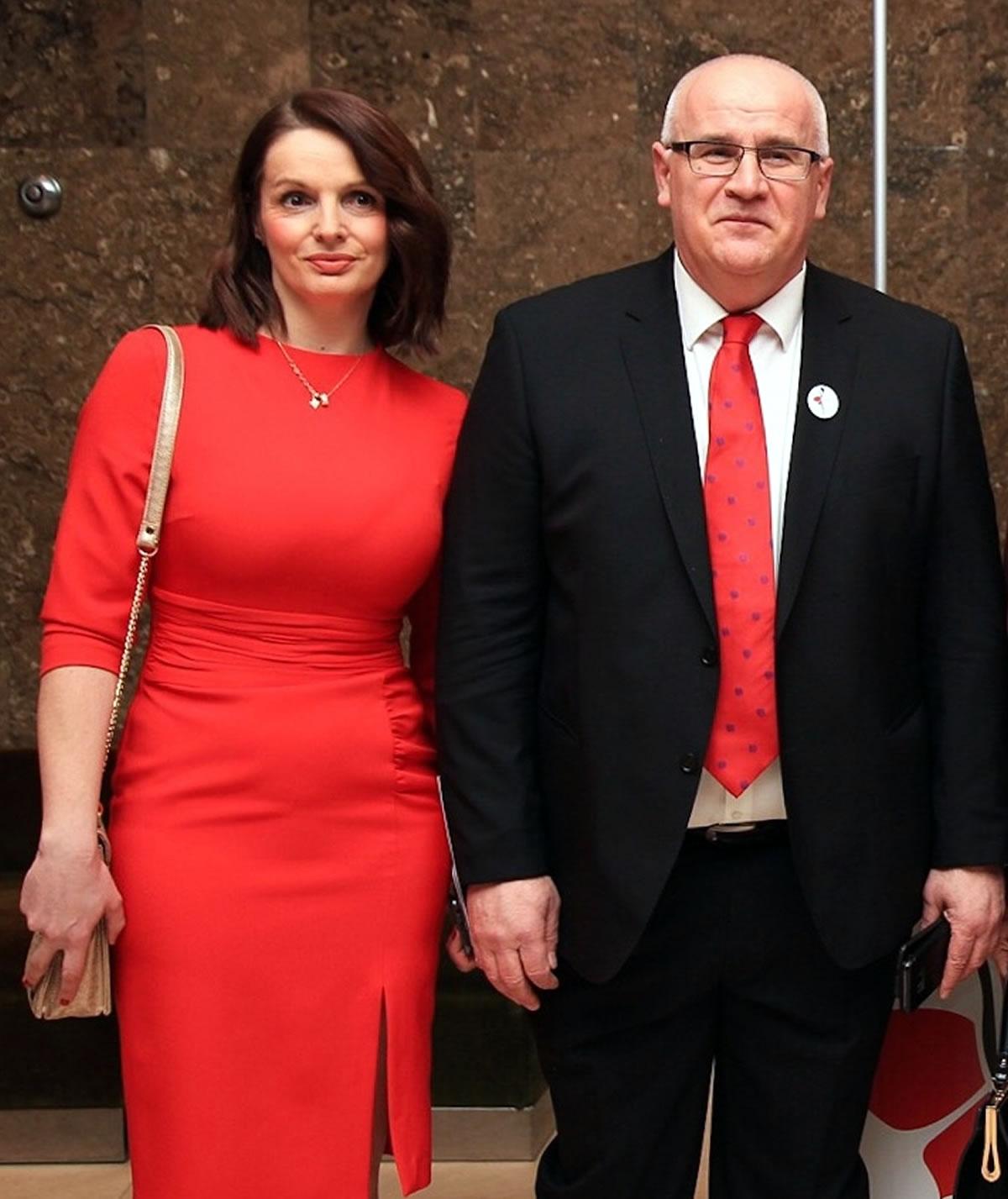 Mirela Šentija Knežević i Vjekoslav Jeleč - Dan crvenih haljina 2020