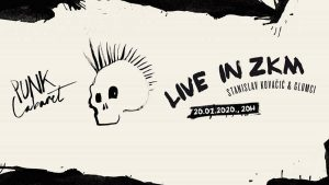 punk cabaret - stanislav kovačić - live in zkm 2020