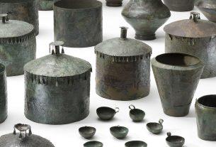 brončano posude - stariježeljeznodobni tumul - kleinklein, großklein - 2020