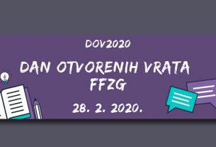 dan otvorenih vrata ffzg 2020