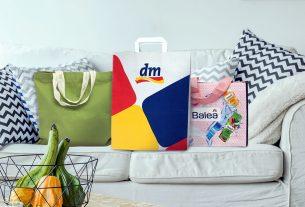 dm / drogerie markt - torbe za kupnju - 2020