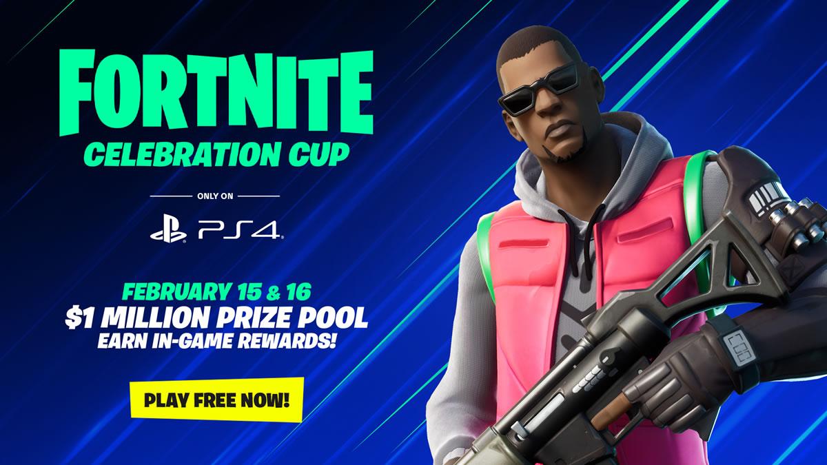 fortnite celebration cup / ps4 / 2020