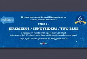 jeremiahs, sunnysiders i two blue u studiju bajsić - 2020