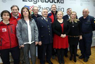 predstavnici civilne zaštite zagrebačke županije - 2020