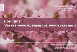 valentinovo - koncert klasične glazbe - dom sveta ana - 2020