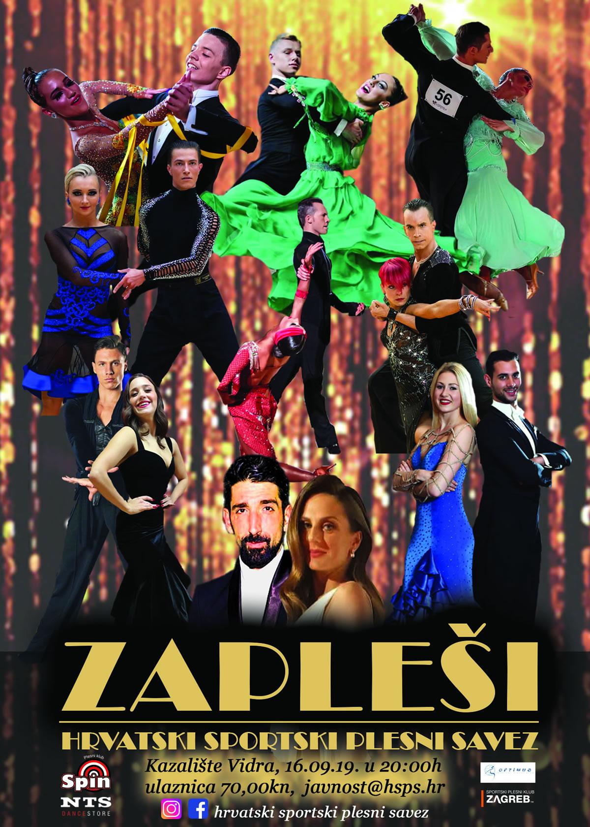 ZAPLEŠI - plesna predstava koja okuplja najbolje plesače HSPS-a