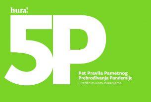 5P - Pet Pravila Pametnog Prebrođivanja Pandemije u tržišnim komunikacijama - HURA 2020