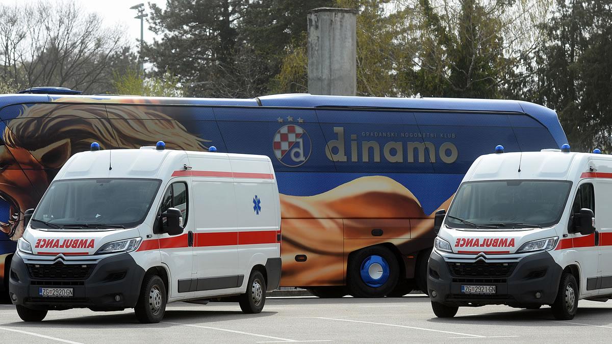 gnk dinamo - donacija sanitetskih vozila - 2020