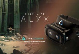 half-life: alyx / htc vive cosmos elite 2020