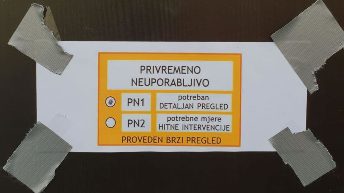 hrvatski prirodoslovni muzej privremeno neuporabljiv nakon potresa 2020