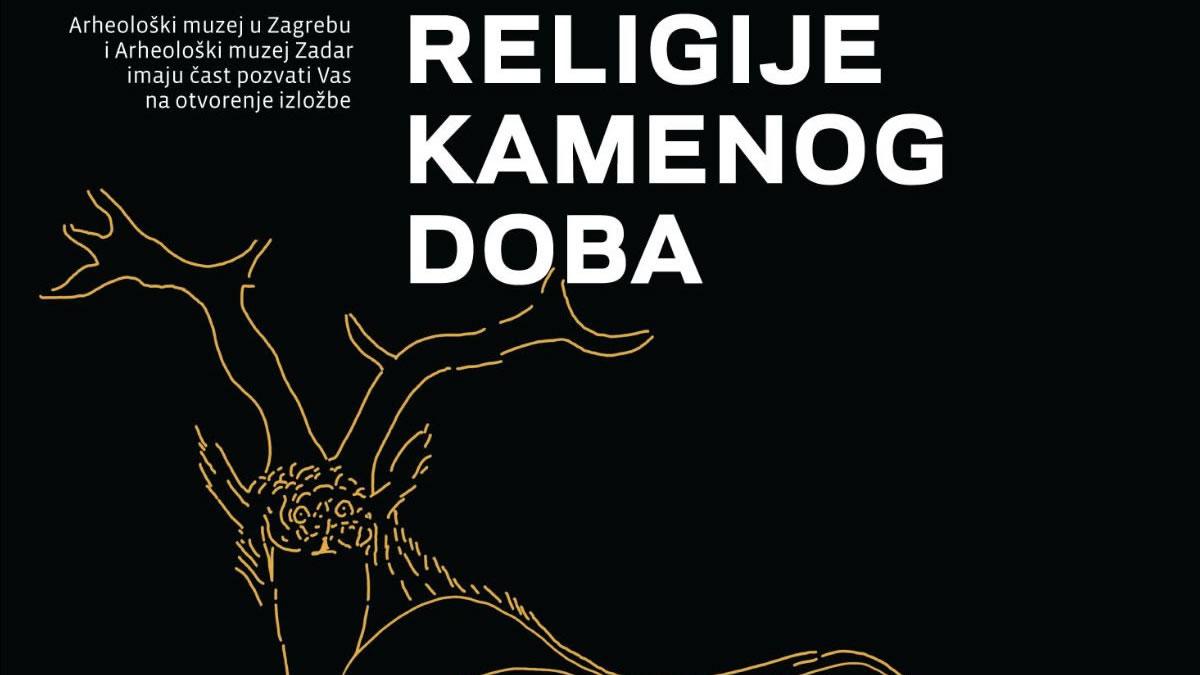 """izložba """"religije kamenog doba"""" - arheološki muzej zagreb - 2020"""