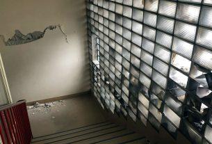 klinika za plućne bolesti jordanovac - šteta nakon potresa - 2020