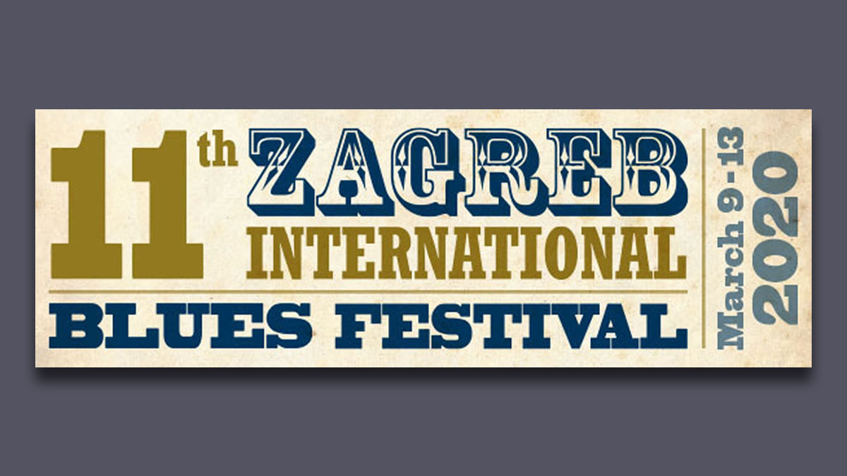 11. zagreb international blues festival 2020
