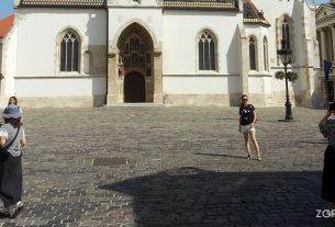 crkva svetog marka - markov trg zagreb - kolovoz 2017.