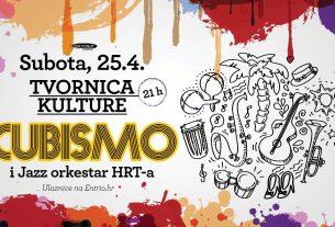 cubismo i jazz orkestar hrt - tvornica kulture - 2020