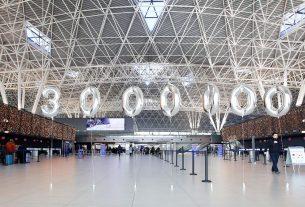 doček tromilijuntog putnika - zračna luka franjo tuđman - 2017