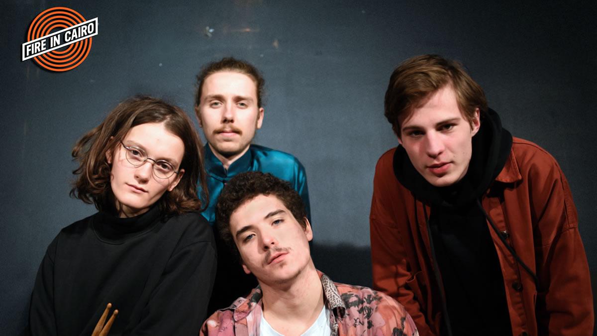 fire in cairo - indie garage rock band - zagreb croatia 2020
