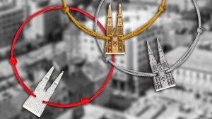 mojati narukvica - motiv zagrebačke katedrala 2020