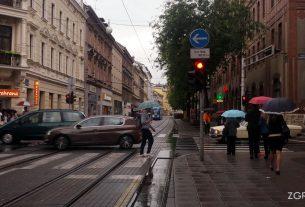 ulica nikole jurišića, zagreb / rujan 2014.