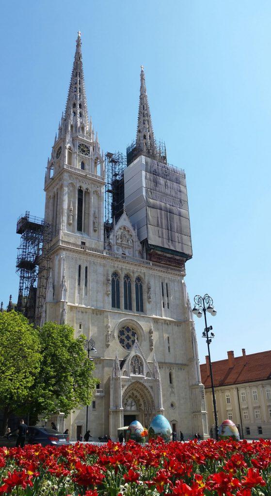 Zagrebacka Katedrala Katedrala Uznesenja Blazene Djevice Marije