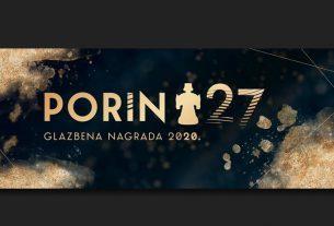 27. glazbena nagrada porin 2020