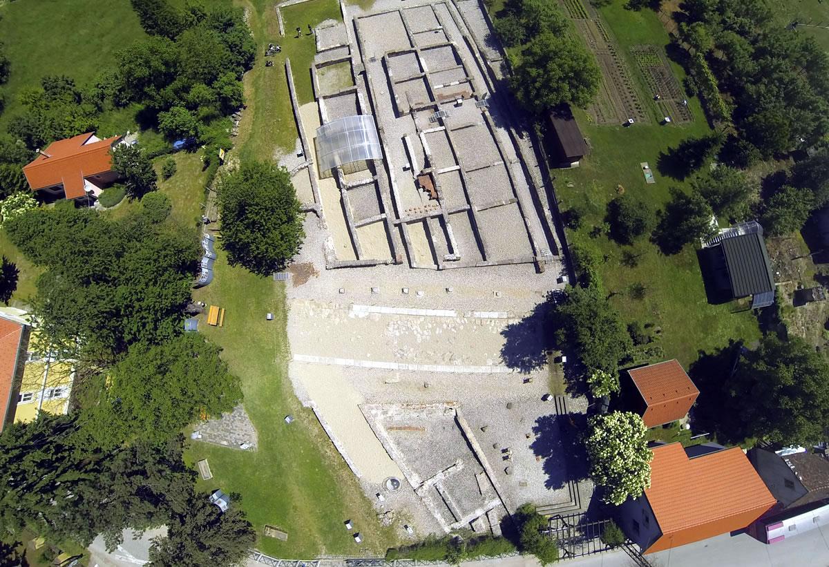 Arheološki park Ščitarjevo - drone foto
