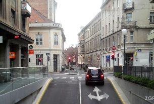 """garaža """"cvjetni"""", varšavska ulica, zagreb / travanj 2013."""