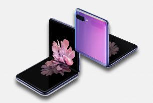samsung galaxy z flip mirror purple combination 2020