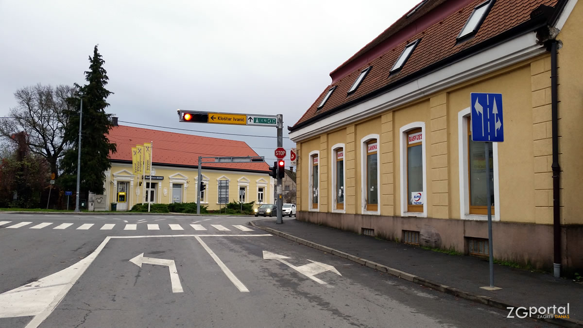 ivanić-grad - skretanje za kloštar ivanić - studeni 2019.