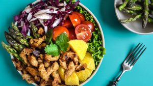 the amaze gril trake - chicky one salata - the amaze foods - 2020
