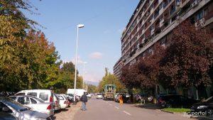ulica brune bušića, središće, zagreb - listopad 2014.