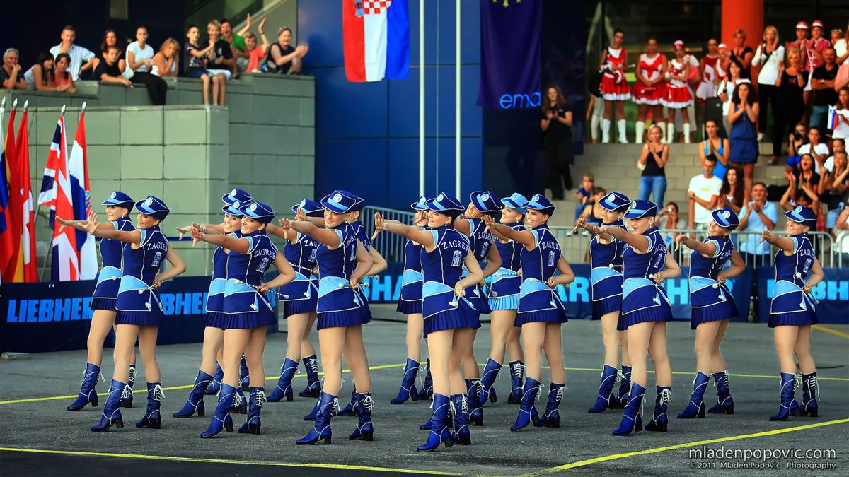 zagrebačke mažoretkinje zagreb croatia 2020