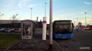 autobusna linija 270 dubec - blaguša - terminal dubec, zagreb - prosinac 2012.