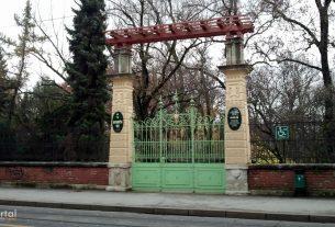botanički vrt - glavni ulaz - studeni 2012.