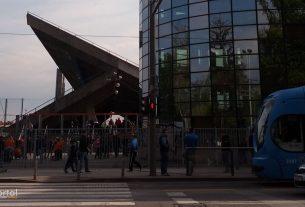 istočna tribina, stadion maksimir, zagreb / travanj 2014.
