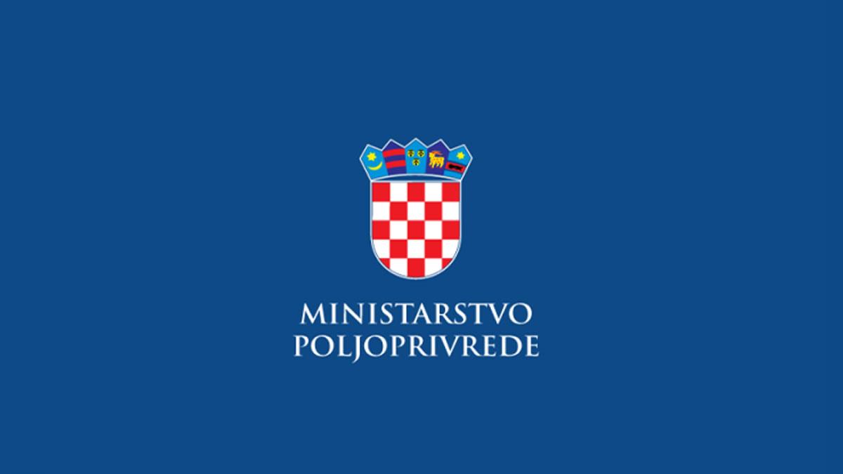ministarstvo poljoprivrede republike hrvatske - logo 2020