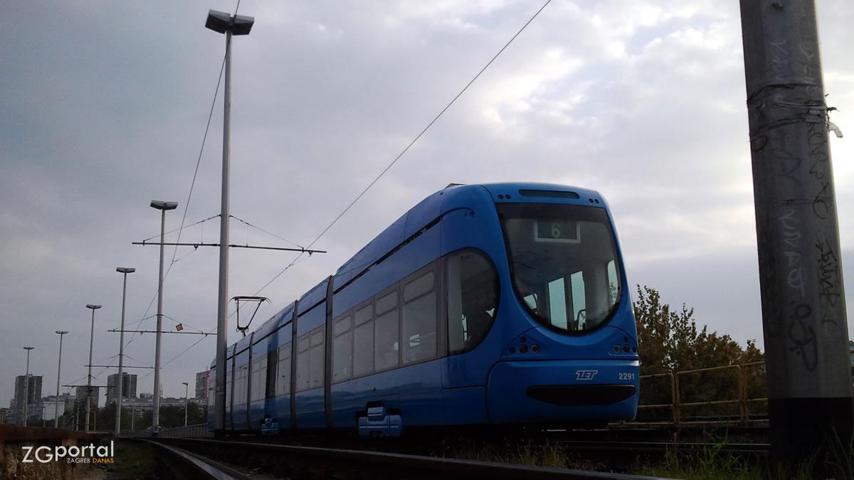 tramvajska linija 6 - most mladosti, zagreb - rujan 2012.