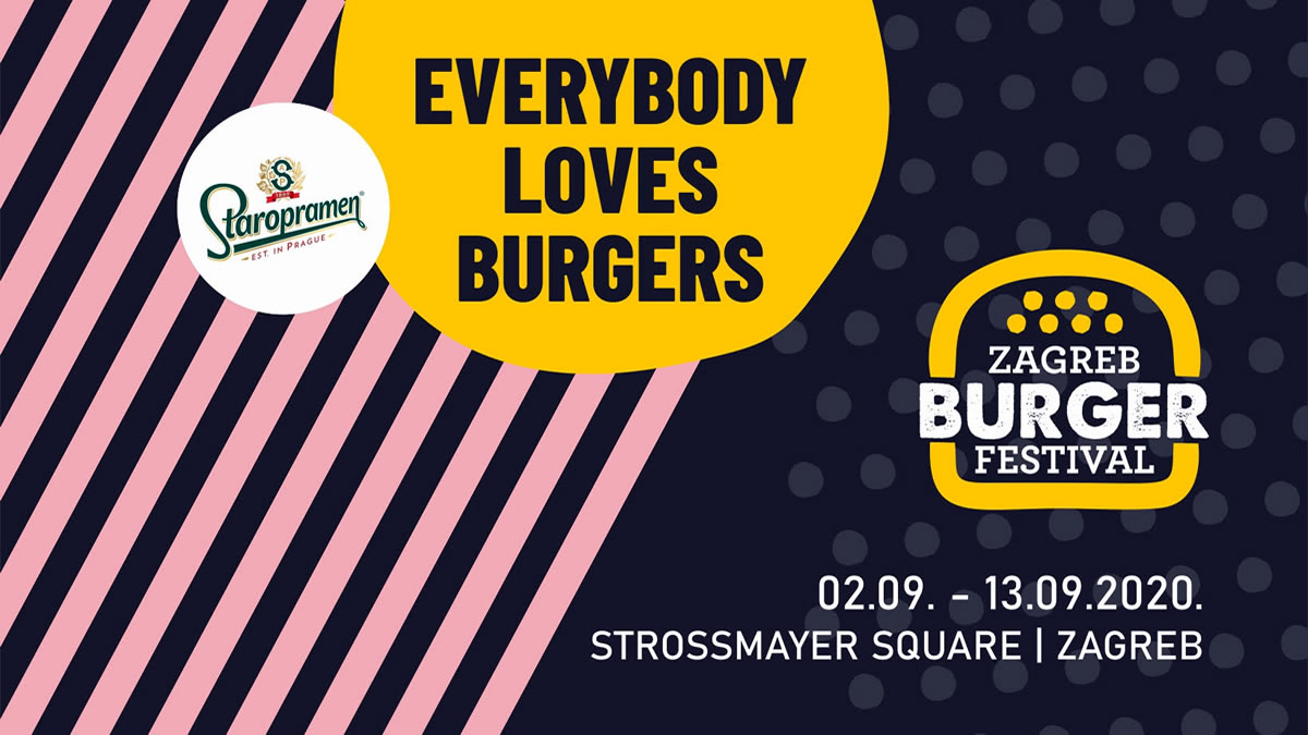 zagreb burger festival 2020 - everybody loves burgers